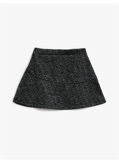 Koton Normal Bel Basic Etek Siyah